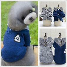 Puppy Pet Dog Cats Hoodie Clothes Jacket Coat Pet Fleece Sweater Shirt Apparel