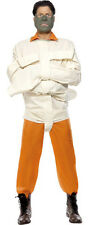 Hannibal Lecter Silence of The Lambs Straight Jacket Fancy Dress Costume 36061