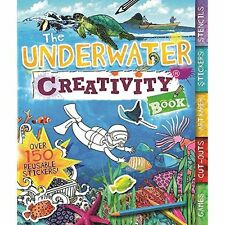 The Underwater Creativity Book: Games, Cut-outs, Art Paper, Stickers, and Stenci