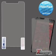 XM-For MOTOROLA Droid Maxx, Droid Ultra Twin Pack Clear LCD Screen Protector Fil