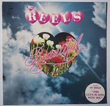 THE REELS beautiful *SIGNED 1982 LP AUSSIE ALT SYNTH POP ROCK Dave Mason