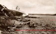 Cork View of Youghal Lighthouse Old b/w Irish Photo - Size Selectable