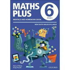NEW Maths Plus NSW Aus Curriculum Ed Mentals & Homework Book 6 Revised Ed 2016 b