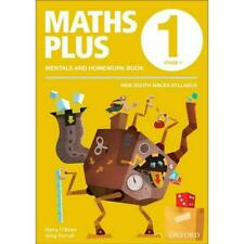 NEW Maths Plus NSW Aus Curriculum Ed Mentals & Homework Book 1 Revised Ed 2016 b