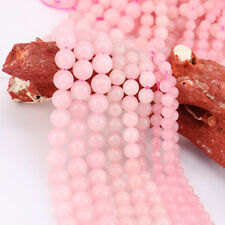 Pink 15 Inch /Bunch Crystal Loose Spacer Beads Earring Necklace Jewelry Making
