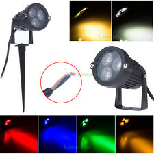 9W LED Outdoor Landscape Flood Spot Light Garden Pond Lawn Yard Path Lighting