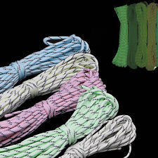 25FT PFY Luminous Glow In The Dark Reflective Paracord Parachute Cord 9 Strand