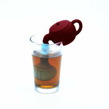 2pcs Silicone Herbal Teapot Strainer Filter Teapot Fashion Spice New Hot