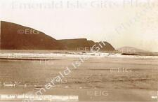 Mayo Achill Keel Bay and Minaun Cliffs Old Irish Photo - Size Selectable