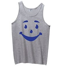 Smiley Man Face Funny Mens Tank Top Cool Oh Yeah Happy Face Gift Sleeveless Z3