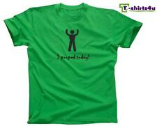 I POOPED TODAY! Funny Cool Party Humor Retro College Tee - T-Shirt - NEW - Green