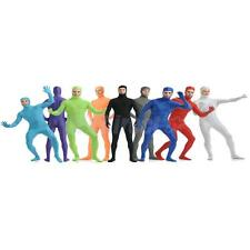 Lycra Spandex Skin Suit Catsuit Halloween Party Zentai Bare Face Unisex Costume