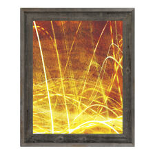 Click Wall Art 'Liquid Amber' Framed Graphic Art