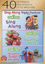 Sesame Street: Sing Along/Kids' Favorite Country Songs/Sesame Sings Karaoke...