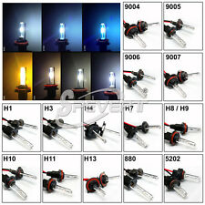 2x 35W HID Xenon Headlight Replacement Bulbs H1 H3 H7 9005 9006 BI-XENON H4 H13