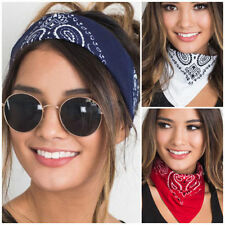 Colorful Bandana Scarf Square Head Scarf Female Motorcycle Hip-hop Headwear Hot
