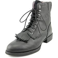 Ariat Heritage Lacer II   Round Toe Leather  Ankle Boot