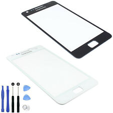 New Front Outer Glass Screen Lens Cover For Samsung Galaxy S 2 II i9100 w Tool