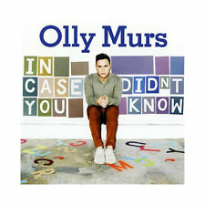 OLLY MURS - IN CASE YOU DIDNT KNOW - CD - HEART SKIPS A BEAT +