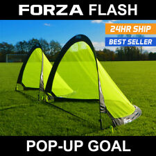 FORZA Flash Pop-Up Soccer Goals [Pair] - The Ultimate Pop Up & Play Soccer Goal!