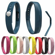 Soft Silicone Replacement Band Strap Wristband For Fitbit Flex 2 Tracker S&L