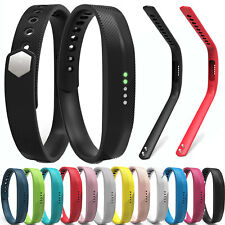 Silicone Replacement Band Strap Wristband For Fitbit Flex 2 Tracker Small/Large