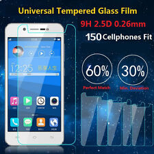 0.26mm Premium New Universal Tempered Glass Film Screen Protector 9H For Phones