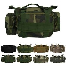 Camo Bag Military Outdoor Army Camouflage Backpack Shoulder Bag and Hip Bag