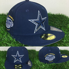 BNT New Era Dallas Cowboys Tribute Turn Fitted 59Fifty Caps Hats Navy Champions