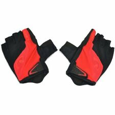 GIRO Bravo Gel Moisture Wicking Bike Short Finger Gloves , Black x Red