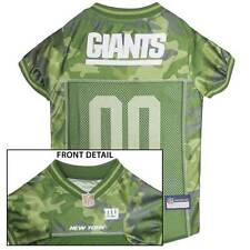 NEW YORK GIANTS Dog Jersey * CAMO * XS-XL NFL Football Camouflage Puppy Shirt NY