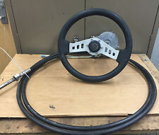 "* 15ft Teleflex STEERING ASSY RACK SYSTEM with 13"" Steering Wheel"