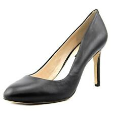INC International Concepts Bensin Women  Round Toe Synthetic Black Heels NWOB