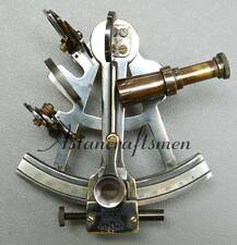 Marine Nautical Sextant Astrolable Navy Ship Nautical Navigation Sextant 5""