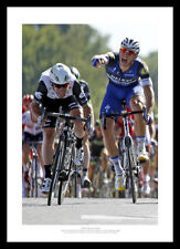 Mark Cavendish Beats Marcel Kittel 2016 Tour de France Photo Memorabilia (151)