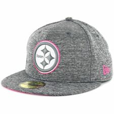 New Era 5950 Breast Cancer Awareness BCA 2016 Pittsburgh Steelers Fitted Hat