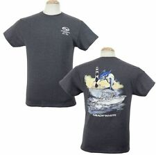 Grady White Boats Watercolor Marlin Short Sleeve T-Shirt Heather