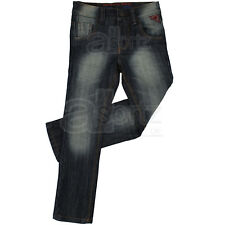 New Boys Childrens Next Denim Slim Leg Dark Wash Jeans Age 2 - 12 13 14 Years
