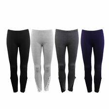 High Waist Women Slim Stretchy Skinny Cotton Elastic Leggings Pencil Pants PY