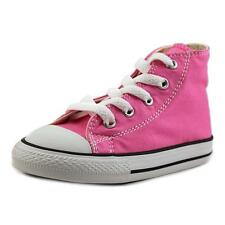 Converse Chuck Taylor All Star Hi Toddler  Round Toe Canvas Pink Sneakers