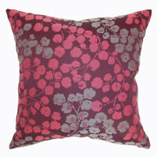 The Pillow Collection Fleur Floral Throw Pillow