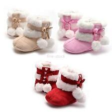 Winter Baby Shoe Warm Boots Soft Bottom Crib Shoes Toddlers Furry Ankle Booties