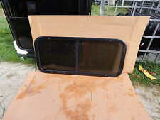 """RV Trailer Window, 42""""X18"""", Tinted, With Screens, No Trim Rings, Opens, #579"""
