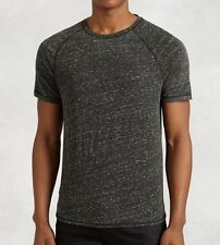 John Varvatos Star USA Men's Short Sleeve Raglan Crew Tee Kelp $68 msrp NWT