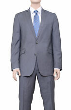 Kenneth Cole Reaction Slim Fit Gray Pinstriped Two Button Suit