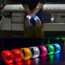 Party Outdoor LED Flash Bracelet Wristband Sound Controlled Voice Light Bangle