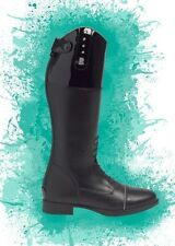 Brogini Simona Patent Top with Crystals Long Riding Child's Boots RRP £100