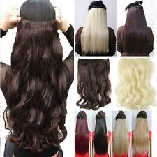 Real Thick 1pcs Clip in 3/4 Full Head Hair Extensions Extension as human hair OC