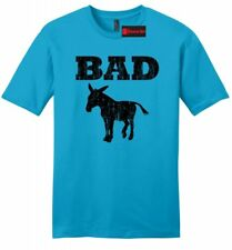 Bad @ss Donkey Funny Mens SFT T Shirt Distressed Donkey Animal Rude Party Tee Z2