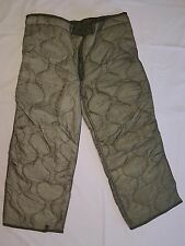 US Military Field Trouser Pant Liner M65 Cold Weather Insert Hunting Ski - NEW